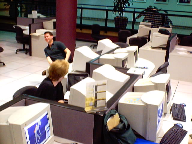Working on Magicians & Looters back in 2002 at UAT